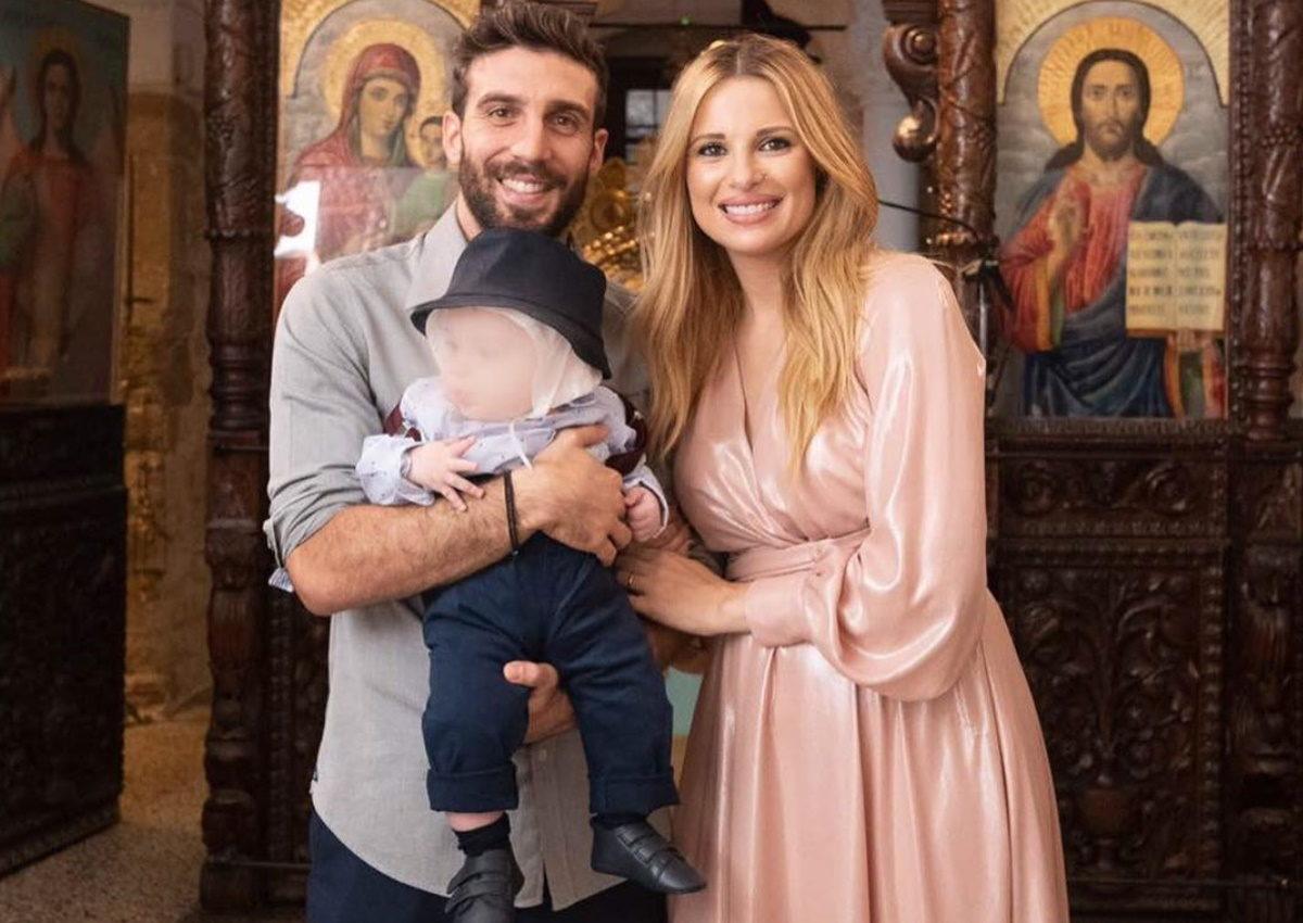 Χριστιάνα Αριστοτέλους – Γιώργος Εφραίμ: Νέες φωτογραφίες από την παραμυθένια βάφτιση του γιου τους! | tlife.gr