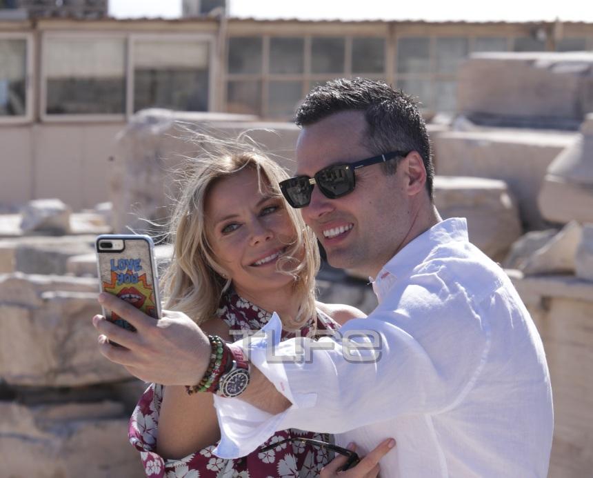 Κatherine Kelly Lang: Οι στιγμές της «Μπρουκ» με τον αγαπημένο της στην Ακρόπολη! Φωτογραφίες | tlife.gr