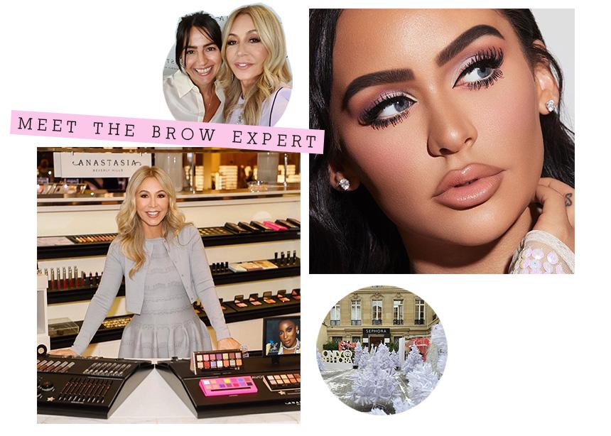 Anastasia Beverly Hills: Πέρασα μια ώρα με την brow expert της Kim Kardashian και να τι έμαθα για τα τέλεια φρύδια!
