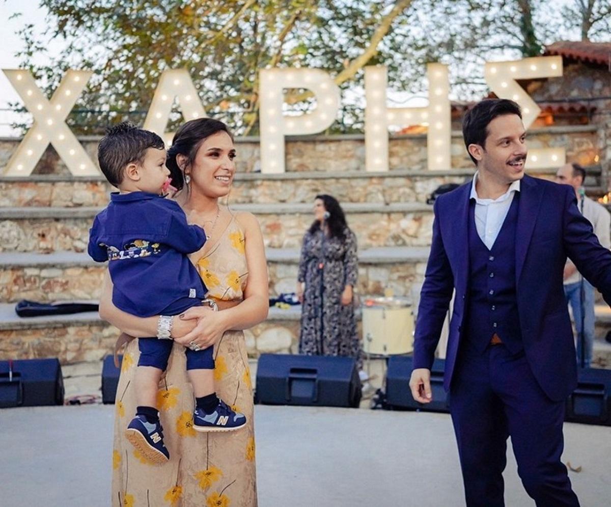 Δημήτρης Μακαλιάς – Αντιγόνη Ψυχράμη: Νέες φωτογραφίες από τη βάφτιση του γιου τους!
