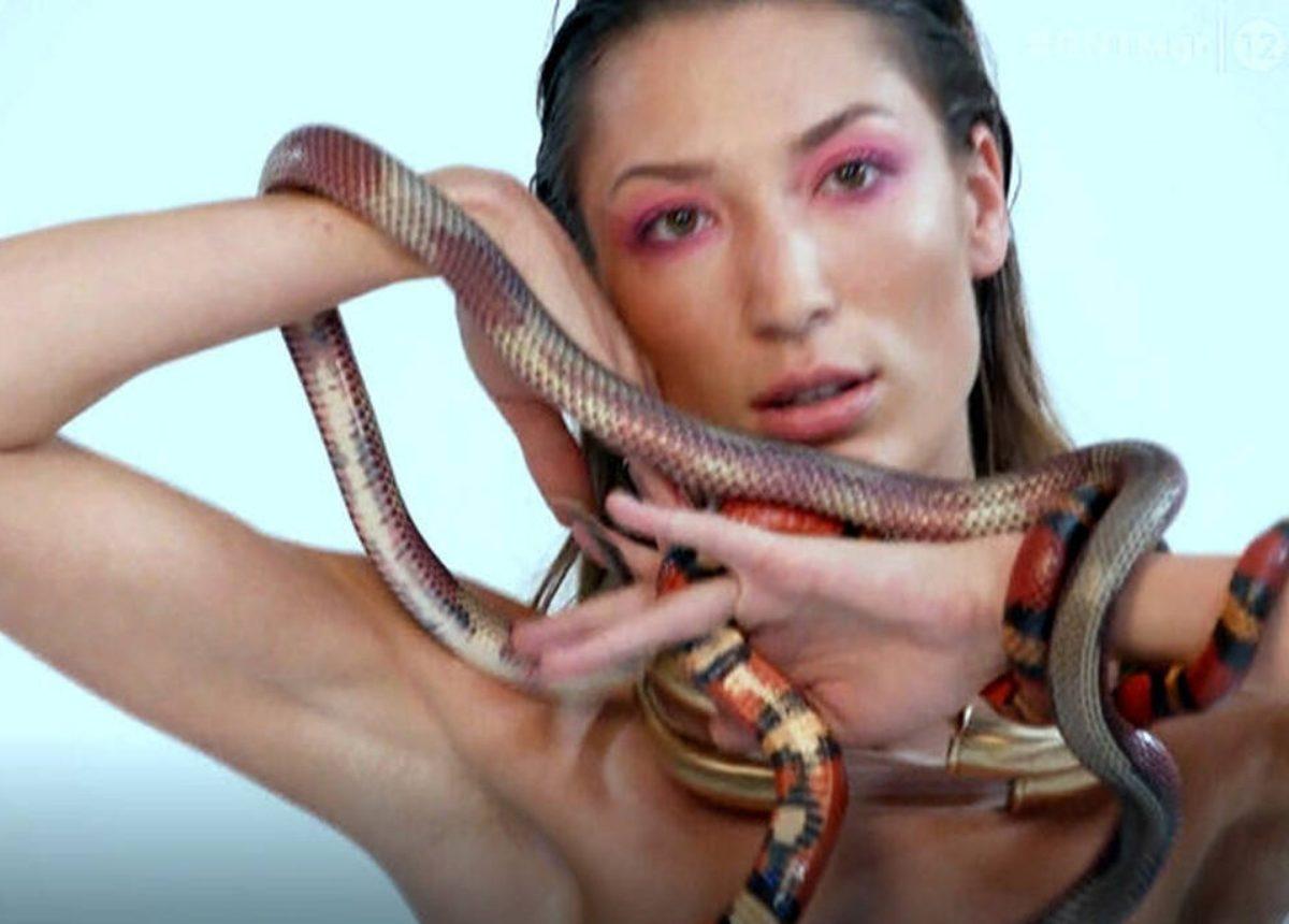 GNTM: Επικό «τρολάρισμα» στο twitter για τη φωτογράφηση με τα φίδια!   tlife.gr