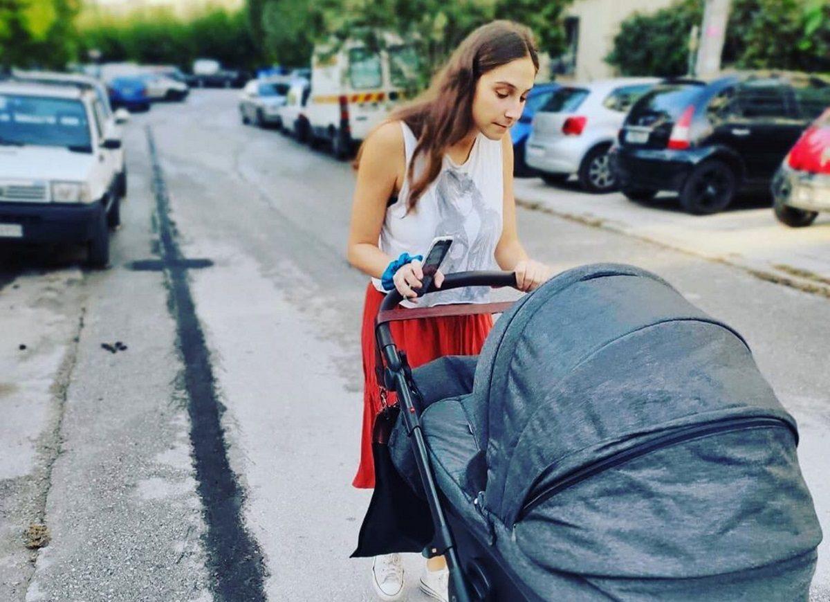 Φωτεινή Αθερίδου: Μας δείχνει τον νεογέννητο γιο της να φοράει το αγαπημένο της μπλουζάκι! [pic] | tlife.gr