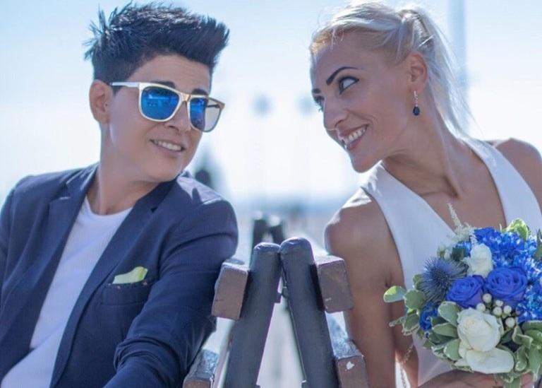 Άνδρη Ελευθερίου: Η Κύπρια Ολυμπιονίκης παντρεύτηκε την αγαπημένη της! Φωτογραφίες | tlife.gr