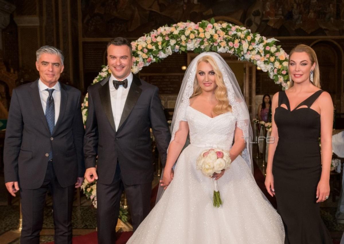 Τατιάνα Στεφανίδου – Νίκος Ευαγγελάτος: Έγιναν κουμπάροι! Φωτογραφίες από τον λαμπερό γάμο της Γιάννας Παναγοπούλου!