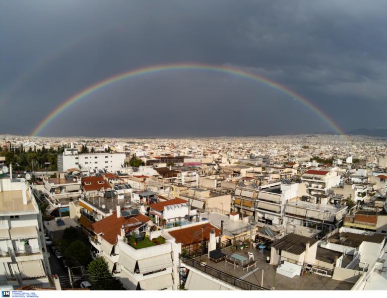 Μετά τις καταιγίδες, ήρθε το ουράνιο τόξο στην Αττική!   tlife.gr