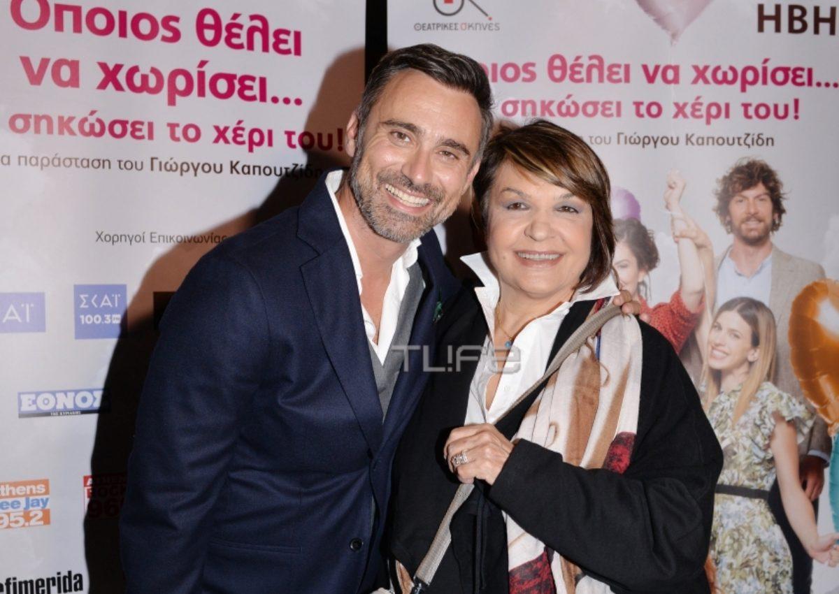 Γιώργος Καπουτζίδης: Το press event για την πρώτη του θεατρική κωμωδία! [pics] | tlife.gr