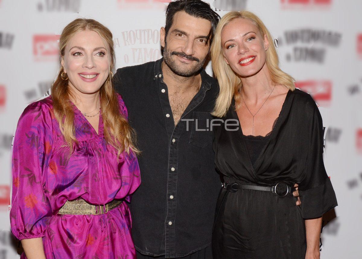 Ζέτα Μακρυπούλια: Βραδιά θεάτρου με καλούς φίλους! [pics] | tlife.gr
