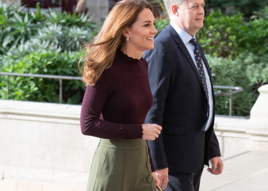 H Κate Middleton συνδύασε τέλεια 2 φθινοπωρινά χρώματα! | tlife.gr