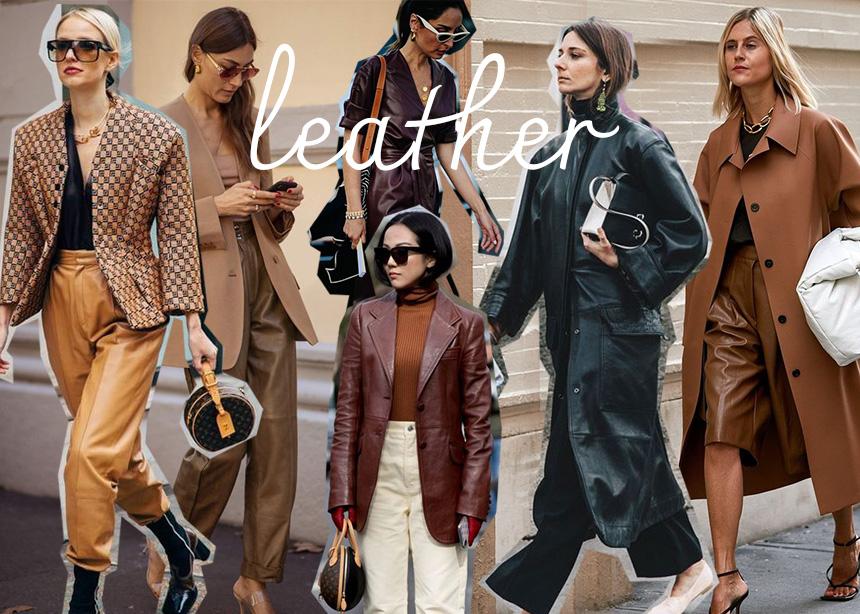 Φέτος τα δερμάτινα ρούχα είναι must have!Φόρεσε τα με τον πιο stylish τρόπο | tlife.gr