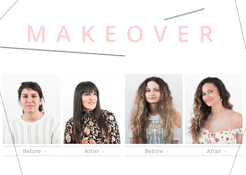Makeover: οι πιο εντυπωσιακές μεταμορφώσεις που έγιναν τελευταία στο studio μας!