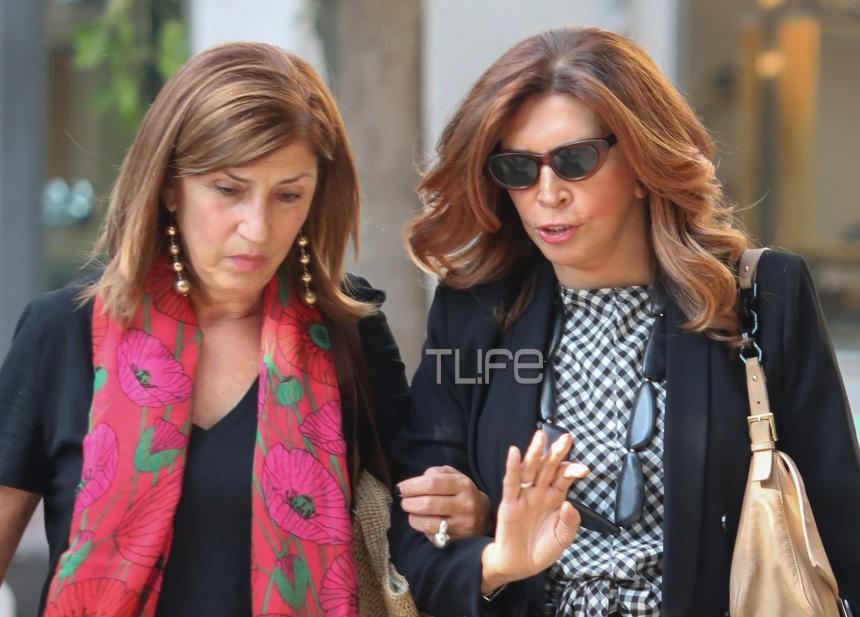 Μιμή Ντενίση: Με την αδελφή της Σοφία, για ψώνια στο Κολωνάκι! Φωτογραφίες   tlife.gr