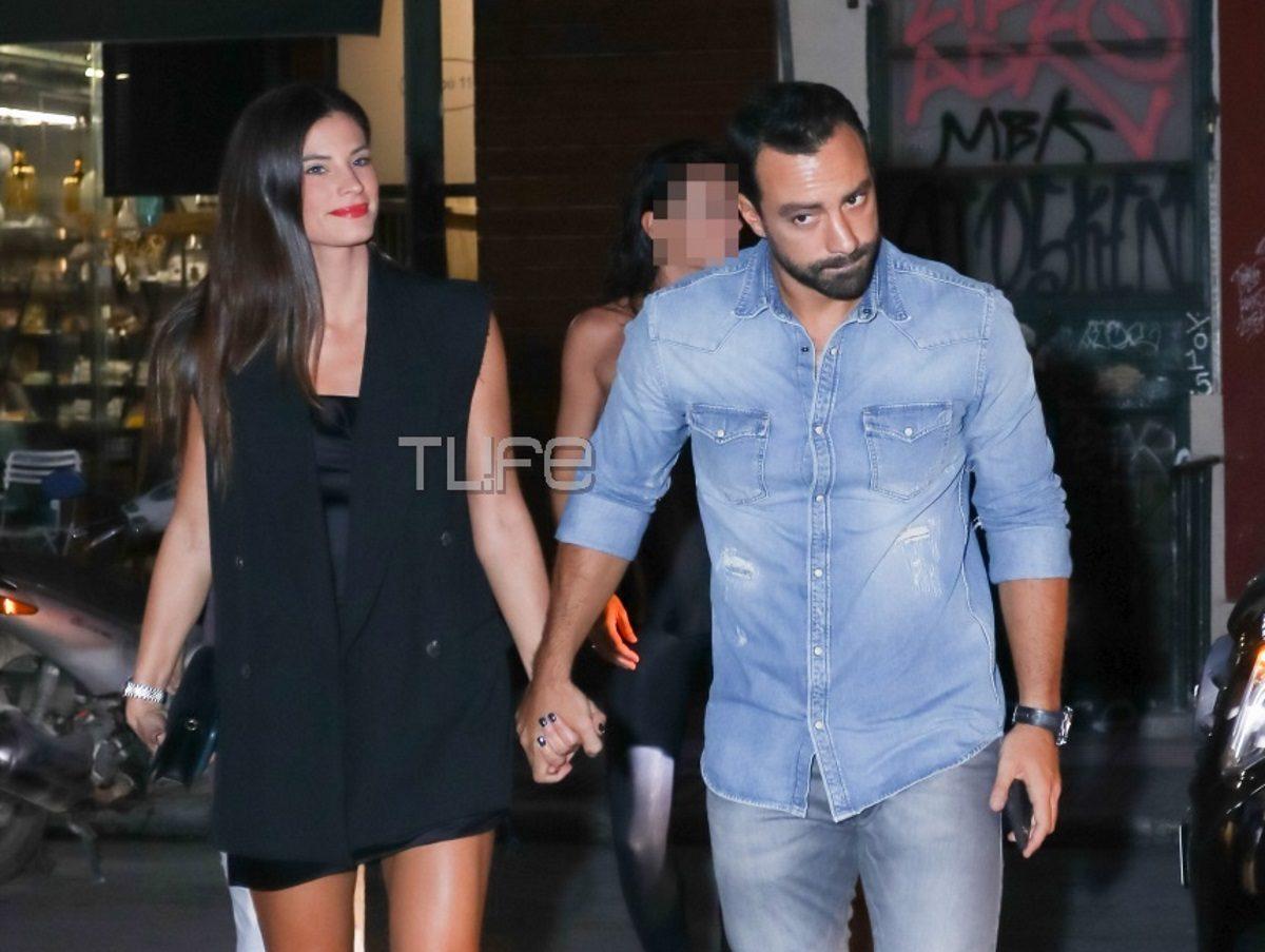 Σάκης Τανιμανίδης – Χριστίνα Μπόμπα: Χέρι χέρι στο κέντρο της Αθήνας! Φωτογραφίες | tlife.gr