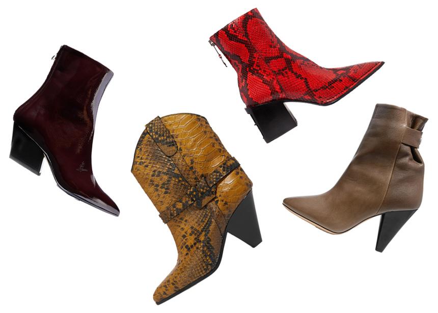 Αnkle boots: Tα αγαπημένα φθινοπωρινά σου μποτάκια!