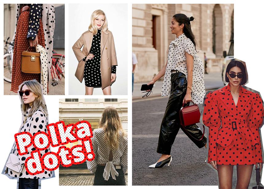 Polka dots: Δες ΕΔΩ πως φοράς  το πιο κλασικό print με fresh τρόπο! | tlife.gr