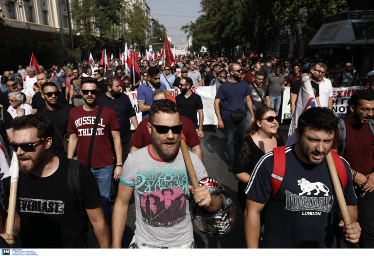 Απεργία 2 Οκτωβρίου: Όλα όσα έγιναν στις πορείες ΠΑΜΕ και ΓΣΕΕ – ΑΔΕΔΥ | tlife.gr