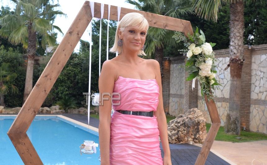 Σάσα Σταμάτη: Εντυπωσίασε ως «Barbie» με ροζ τουαλέτα στο γάμο Σιγούρου – Αρώνη! [pics,vid] | tlife.gr