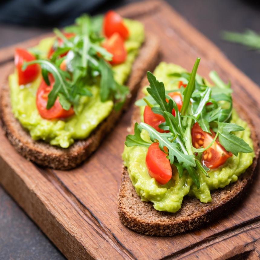 Πανεύκολο avocado toast