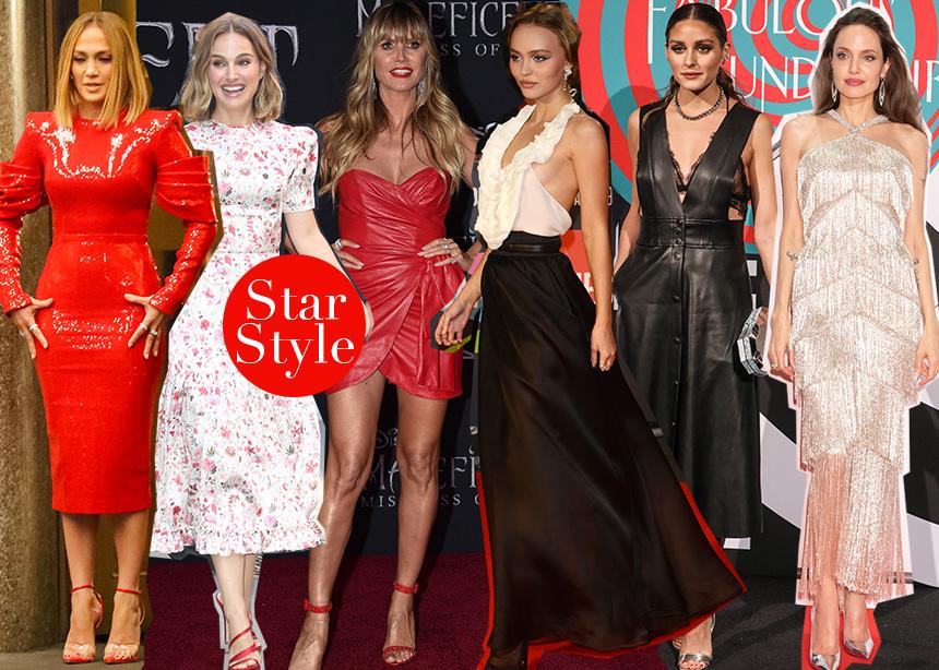 Αngelina Jolie, Heidi Klum ή Jennifer Lopez; Ψήφισε εσύ την πιο στιλάτη εμφάνιση της εβδομάδας