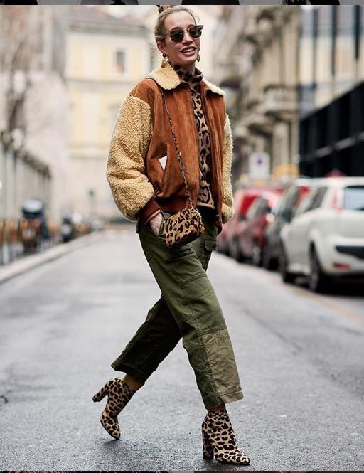 Παρίσι με leopard booties | tlife.gr