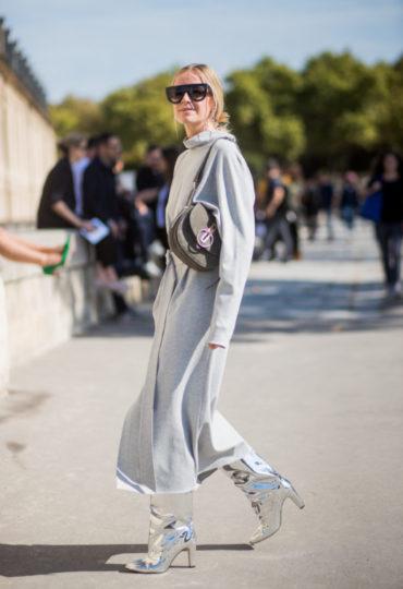 Παρίσι με silver boots