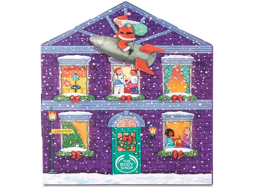 So this is Christmas! Έφτασαν τα πρώτα advent calendar από την The Body Shop! Δες τι έχουν μέσα | tlife.gr