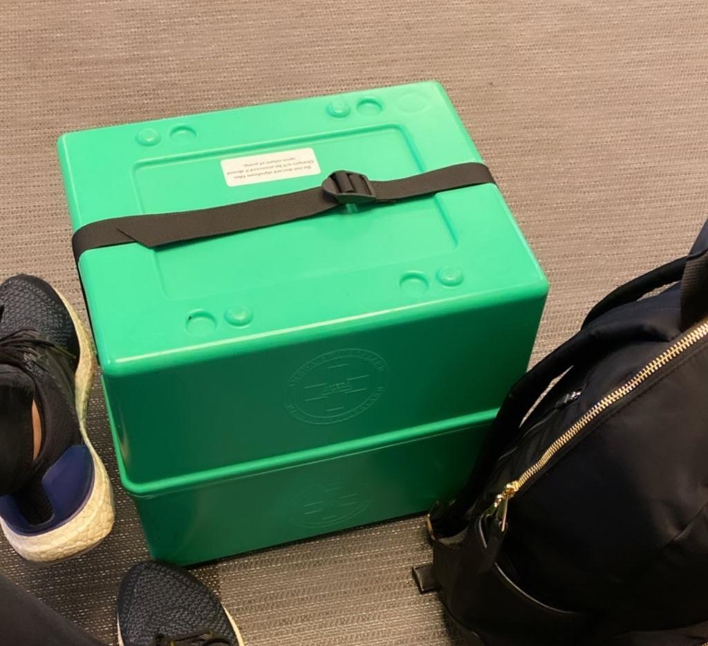 Δούκισσα Νομικού: Αυτό είναι το «περίεργο» κουτί που έχει συνέχεια μαζί της! Τι είναι; | tlife.gr
