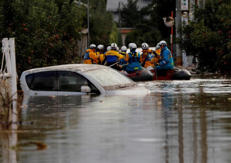35 νεκροί από τον τυφώνα στην Ιαπωνία! | tlife.gr