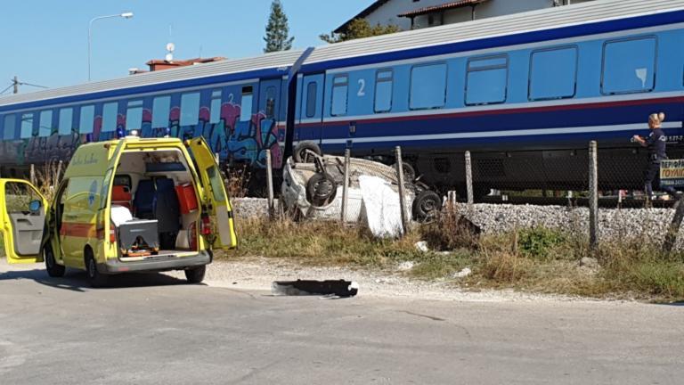 Τροχαίο δυστύχημα στα Τρίκαλα με μια νεκρή – ΙΧ συγκρούστηκε με τρένο | tlife.gr