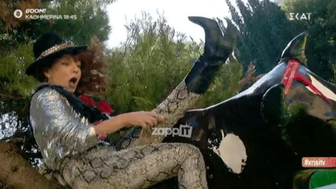 Καλό μεσημεράκι: Η Βάνια μπήκε στο… ροντέο του GNTM! [video] | tlife.gr