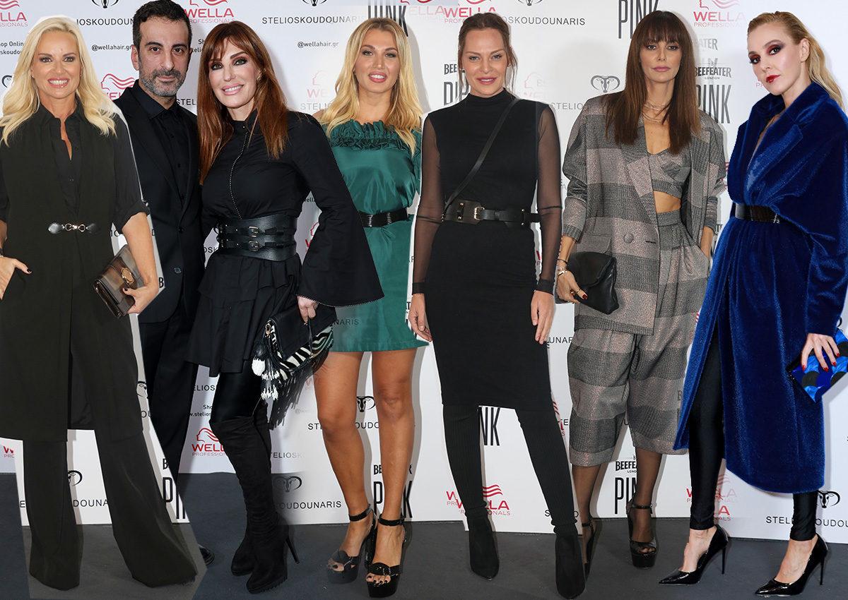 Λαμπερές παρουσίες στο fashion show του Στέλιου Κουδουνάρη για τη νέα του κολεξιόν [pics] | tlife.gr