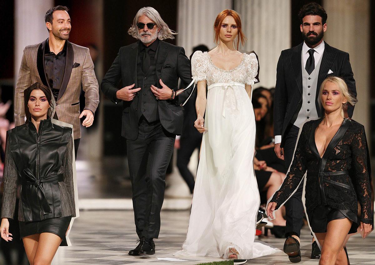 Kathy Heyndels & Giannetos: Οι celebrities που περπάτησαν στην πασαρέλα της AXDW [pics] | tlife.gr