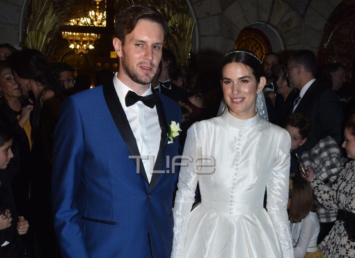Κώστας Καίσαρης: Ο λαμπερός γάμος της κόρης του, Αναστασίας, με τον Thomas Persy – Φωτογραφίες | tlife.gr
