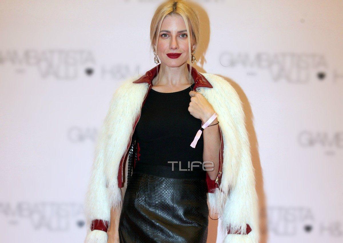 Ευαγγελία Αραβανή: Έκλεψε τις εντυπώσεις με την εμφάνισή της σε fashion event! [pics] | tlife.gr