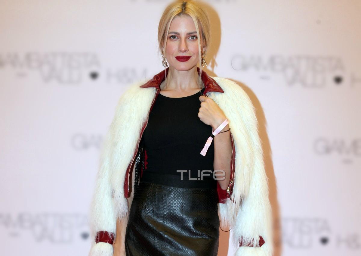 Ευαγγελία Αραβανή: Έκλεψε τις εντυπώσεις με την εμφάνισή της σε fashion event! [pics]