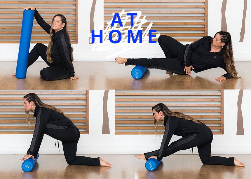 Γυμναστική στο σπίτι: Εύκολες ασκήσεις για όλο το σώμα με τη βοήθεια Foam Roller | tlife.gr