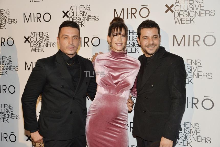 Νίκη Θωμοπούλου: Κομψή εμφάνιση στον πέμπτο μήνα της εγκυμοσύνης της στο show των Mi-Ro! [pics]