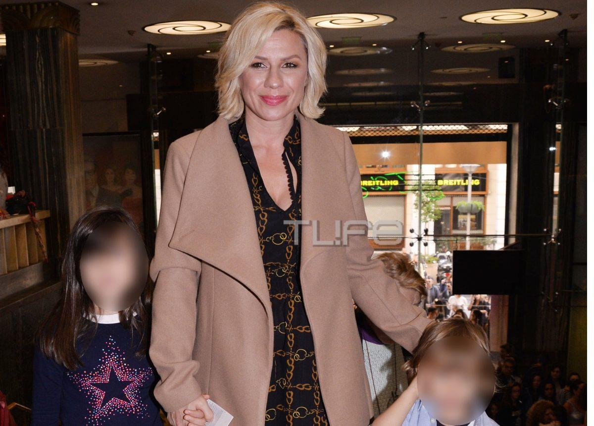 Κατερίνα Καραβάτου: Επίσημη έξοδος με τα παιδιά της! [pics] | tlife.gr