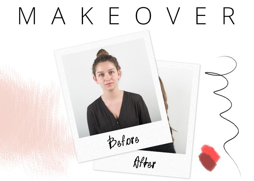 Makeover! Κάναμε διορθωτικό μακιγιάζ στην αναγνώστριά μας