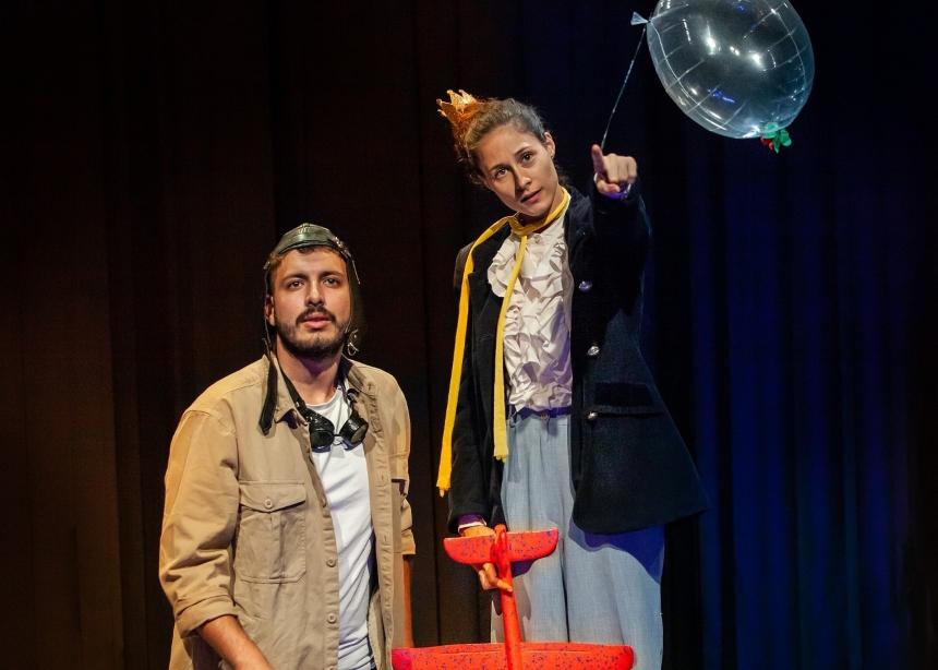 «Ο Μικρός Πρίγκιπας» ταξιδεύει στο Θέατρο 104 για δεύτερη χρονιά!   tlife.gr