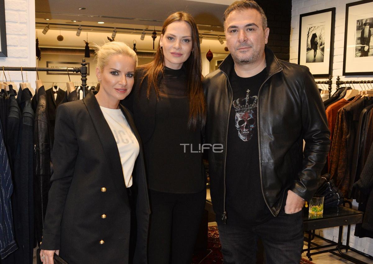 Αντώνης Ρέμος – Υβόννη Μπόσνιακ: Σε fashion event στο Σύνταγμα μαζί με την κουμπάρα τους, Μαρία Μπεκατώρου! [pics]