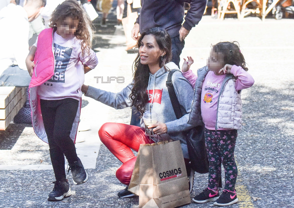 Ιωάννα Σρόιτερ: Για αγορές στην Κηφισιά με τις κόρες της, Νάντια και Παυλίνα! [pics]