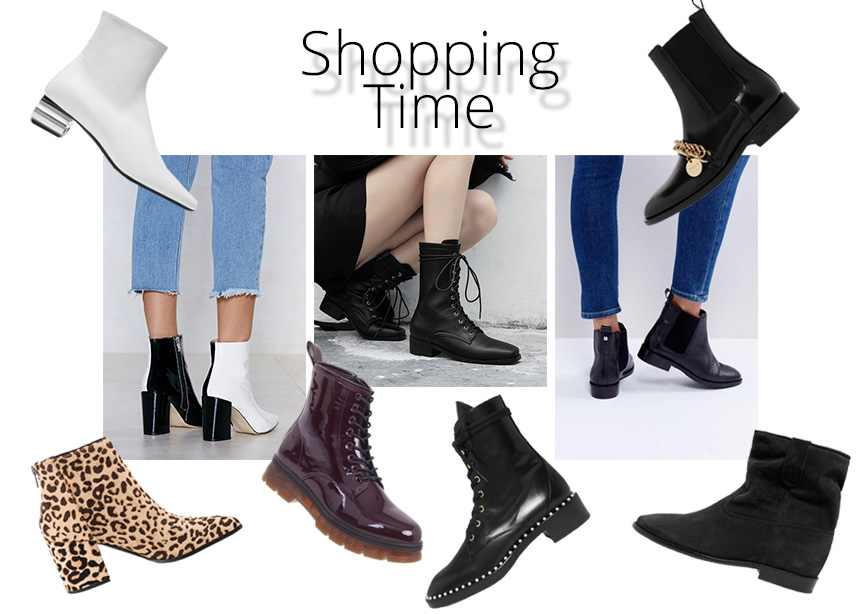 Aφιέρωμα μποτάκια: Ankle boots, αρβυλάκια και casual booties!