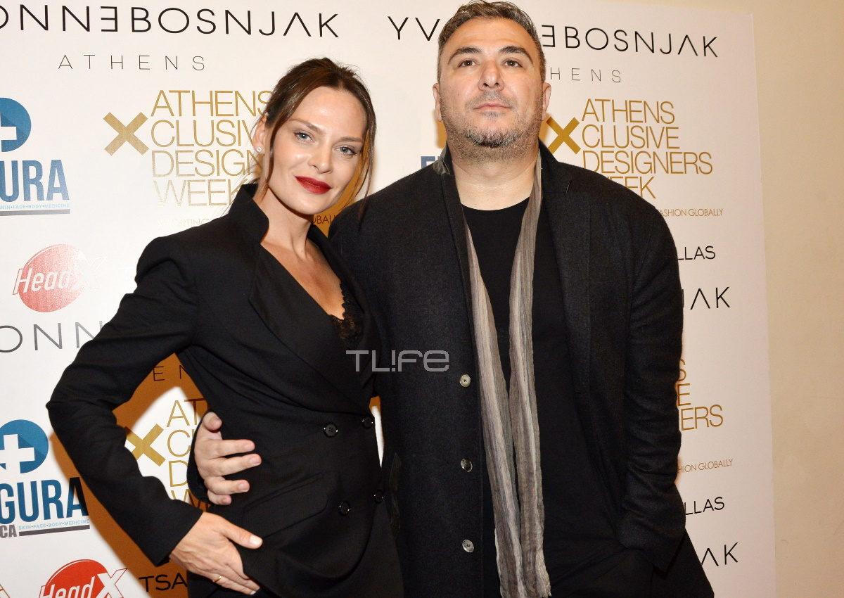 Αντώνης Ρέμος: Στο πλευρό της Υβόννης Μπόσνιακ στο πρώτο της fashion show στην AXDW! [pics] | tlife.gr