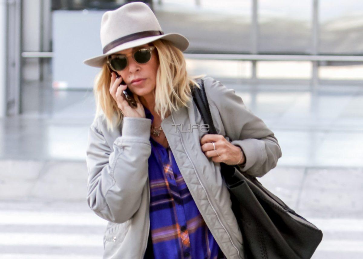 Άννα Βίσση: Χαλαρή βόλτα με casual look στην συμπρωτεύουσα! Ποιον τραγουδιστή συνάντησε; [pics] | tlife.gr