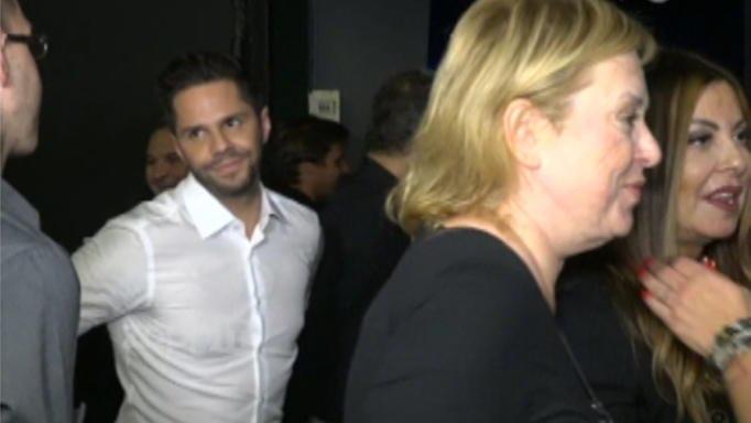 Άντζελα Δημητρίου: Έριξε… άκυρο στον Γιώργο Τσαλίκη μπροστά στις κάμερες – Ο εκνευρισμός του τραγουδιστή [pics,video]