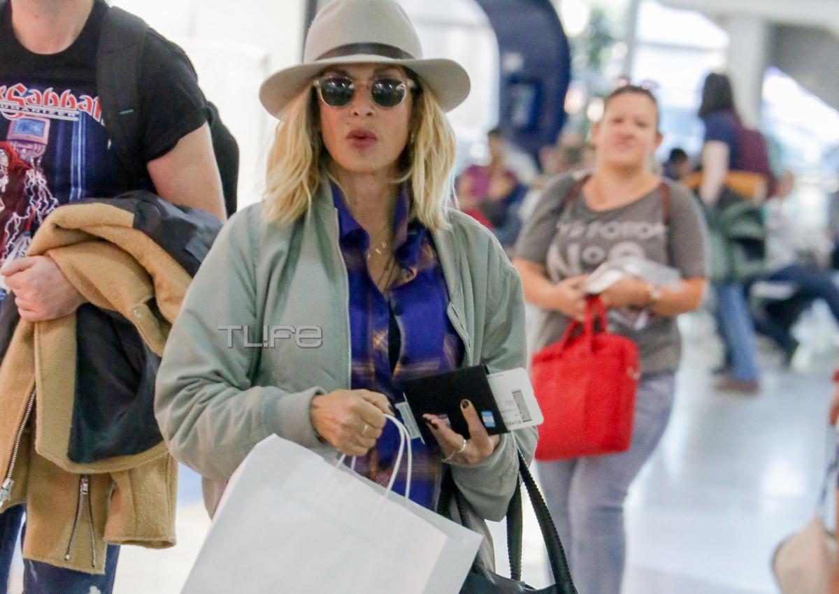 Άννα Βίσση: Για αγορές με casual chic look! [pics]