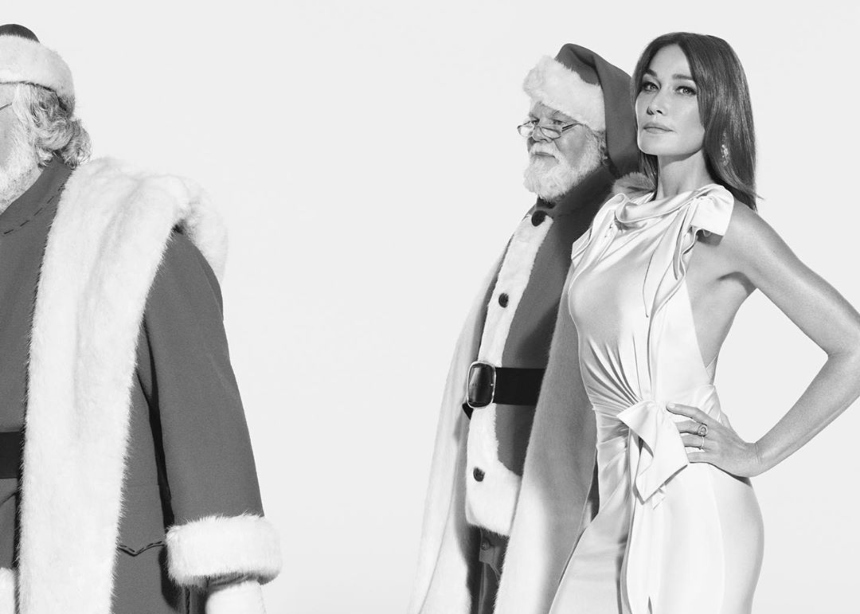 H Carla Bruni στην χριστουγεννιάτικη Burberry campaign | tlife.gr