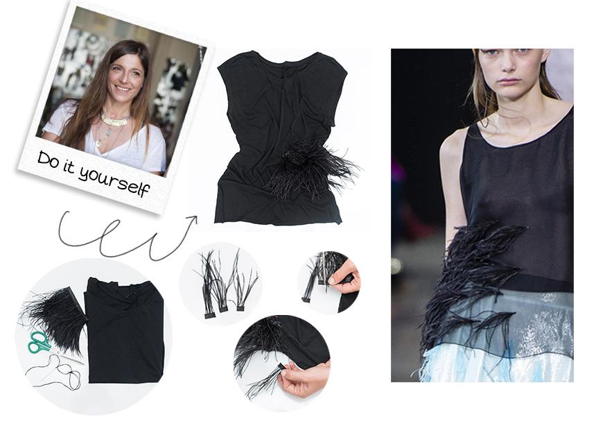 DIY: Μετέτρεψε την παλιά σου μπλούζα σε fashiοn top με απλά βήματα! | tlife.gr