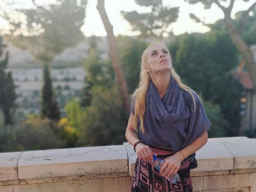 Ντορέττα Παπαδημήτριου: Εκστασιασμένη από το ταξίδι της στην Ιερουσαλήμ! [pics] | tlife.gr