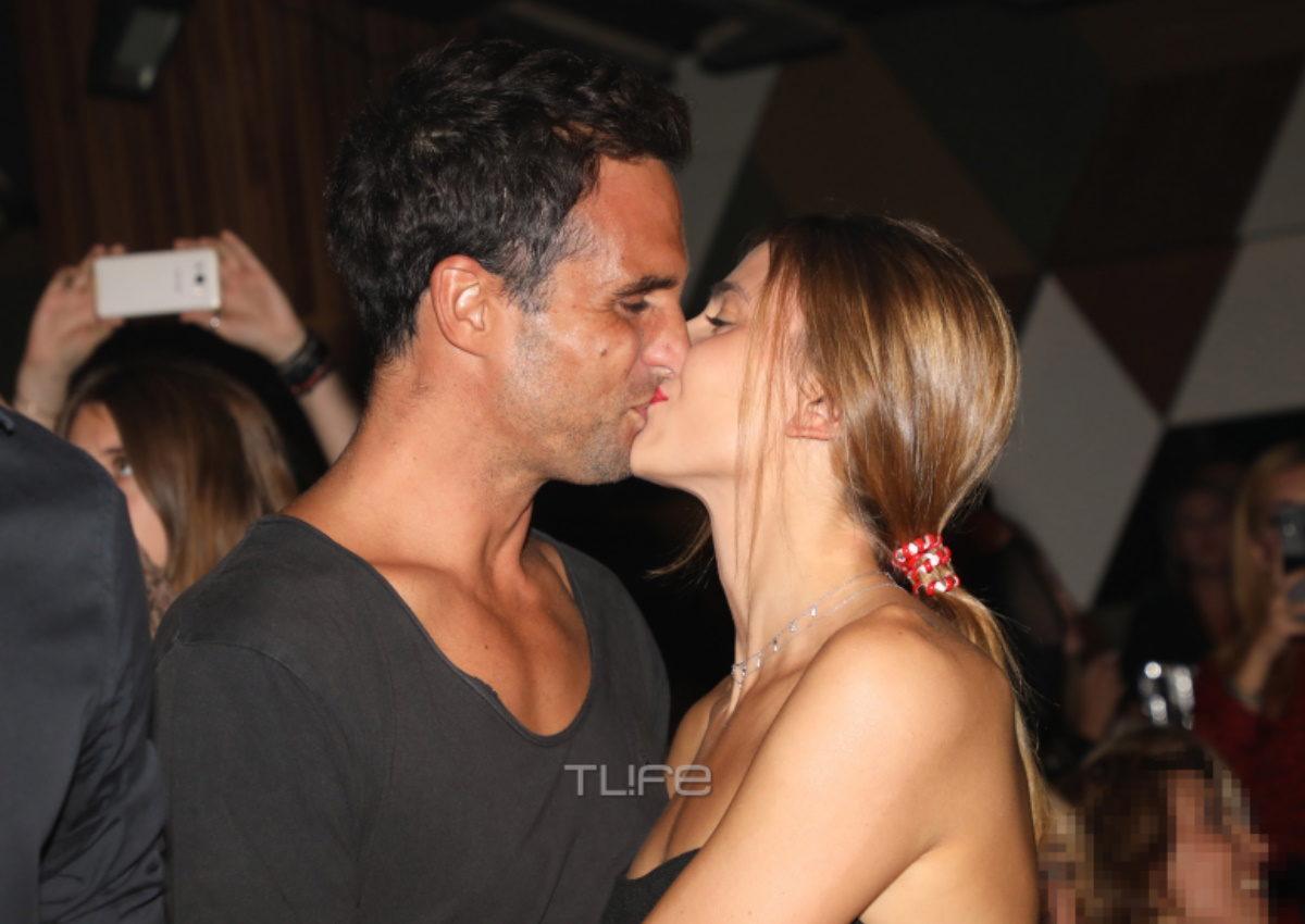 Γιάννης Δρυμωνάκος – Βαρβάρα Κουνέλη: Είναι full in love! Τα παθιασμένα φιλιά μπροστά στον φακό [pics] | tlife.gr